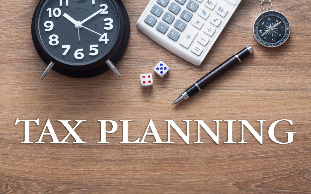 Good time to start tax planning now